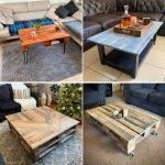 diy wooden pallet coffee table ideas