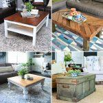 free diy coffee table plans to build in low budget