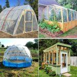 free diy greenhouse plans to build your own greenhouse