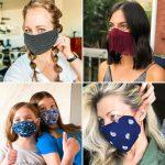 ideas to make a diy no sew face mask with household materials