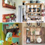 pallet shelves with easy diy instructions