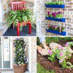 top DIY flower bed ideas to decorate your garden